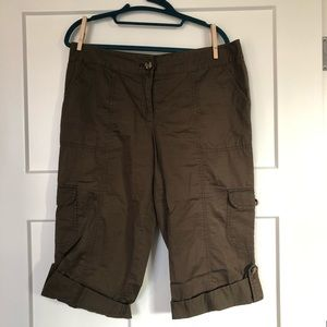Ann Taylor Signature Fit Cargo Bermuda Shorts!